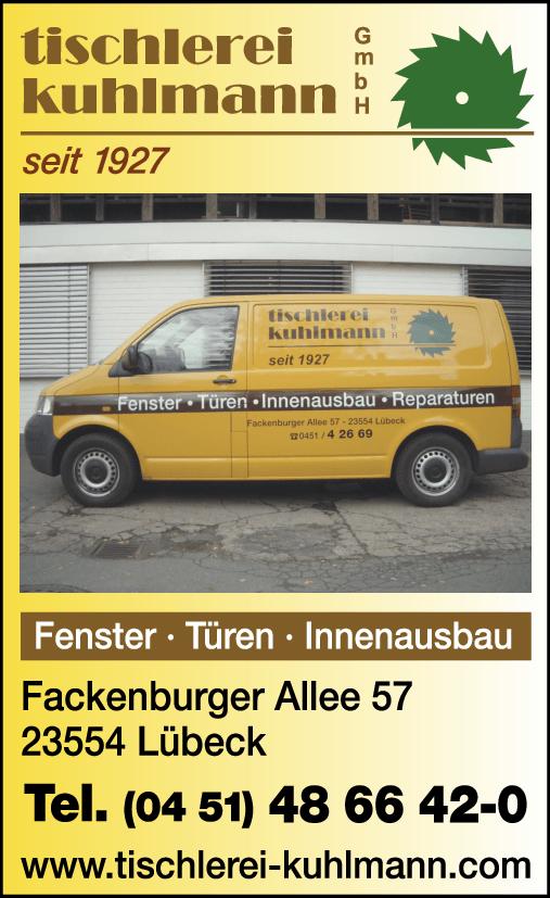 Tischlerei Lübeck tischlerei kuhlmann gmbh tischler in lübeck gt gt im telefonbuch finden tel 0451 48 66