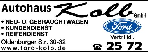 autohaus kolb gmbh in neustadt im telefonbuch finden tel 04561 2. Black Bedroom Furniture Sets. Home Design Ideas