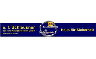 e. f. Schleusner Tor- u. Antriebstechnik GmbH