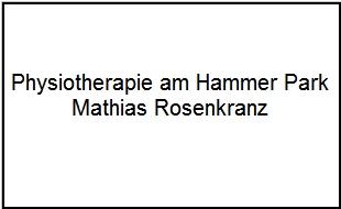Physiotherapeut Matthias Rosenkranz